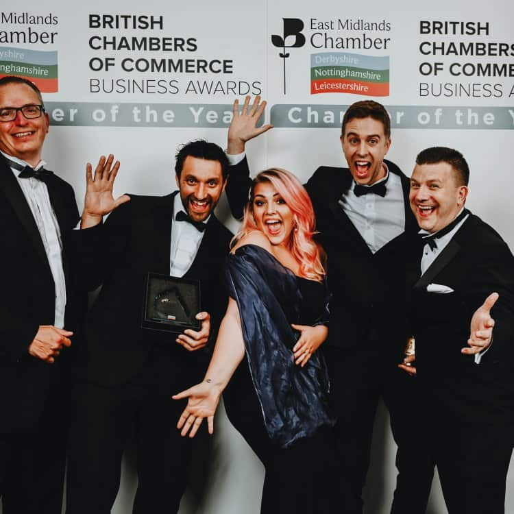 Bloc Digital is the Chamber's Derbyshire Business of the Year