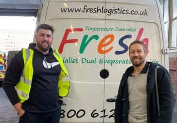 Fresh Logistics Assist with Jonny Wilkinson's No.1 Living Kombucha
