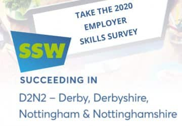 Skills Support for the Workforce (SSW) gather information on the skills and training needs of D2N2 SMEs