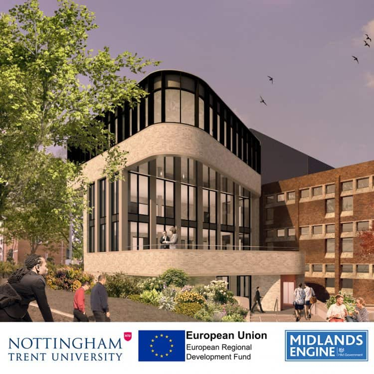 Dryden Enterprise Centre at Nottingham Trent University